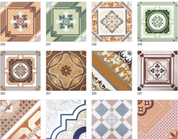 Galicha Print Ceramic Floor Tiles