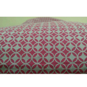 Red Fancy Cotton Fabric, Use: Garments