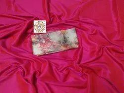 Pramukh Party Wear Soft Silk Saree, 6.3 m (with blouse piece)