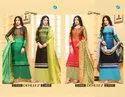 Your Choice Present Dehleej Satin Georgette Digital Printed Salwar Suit