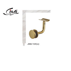 JMB Stainless Steel Golden Finish Railing Bracket