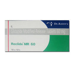 Reclide MR Gliclazide Modified Release Tablet, Pack Size: 10 X 10tablet