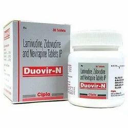 Lamivudine Zidovudine And Nevirapine Tablets IP