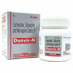 Lamivudine Zidovudine And Nevirapine Tablets IP