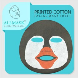 Cotton Penguin Printed Facial Mask Sheet