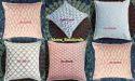 Indigo Blue Cushion Cover 16  Pillow Cases