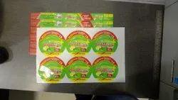2D Custom Die-Cut Sticker Printing Services, in Pan India
