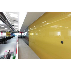 Yellow Lacquer Glass
