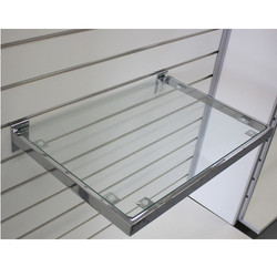 Wall Mounted Glass Shelves