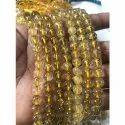 Golden Rutilated Bead