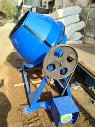 cement concrete mixure  machine half beg