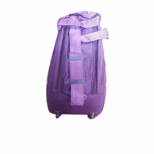 066d52e1b5b3 Purple Plain Designer Duffle Bag