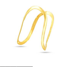 Yellow Women South Indian Ghoda Ring For