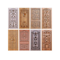 3d Wooden carving Door