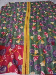 Indian Cotton Vintage Kantha Quilt