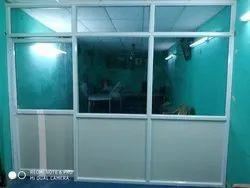 Hinged Office Aluminum Glass Door