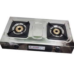 G Flame Two LPG Gas Stove, For Kitchen