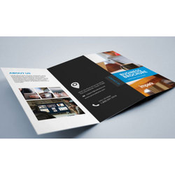 Paper Advertising Brochure, Size: 8.5 X 14