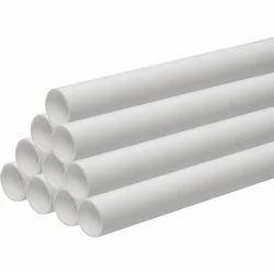 White Round UPVC Plumbing Pipe