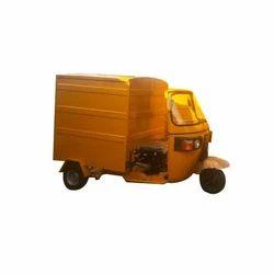 Tuk Tuk Closed Delivery Van