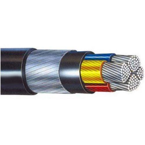 SCI Aluminum Conductor Xlpe Insulated Pvc Sheathed Armoured Cable of size 4c x 16 sq mm