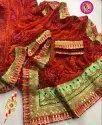 Embroidered Bandhani Saree