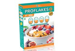 proflakes protein corn flakes, Packaging Type: Box