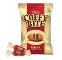 Round Lotte Coffe Bite Eclairs Candy Mrp 100/-, Packaging Type: Packet