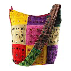 Handmade Multi Colour Shoulder Bag