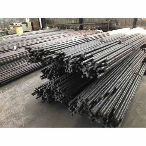 Polished Industrial Stainless Steel Round Bar, Material Grade: Ss 304, Single Piece Length: 6 meter