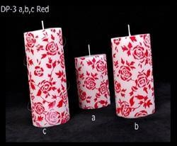 Flower Paper Work Designer Candle