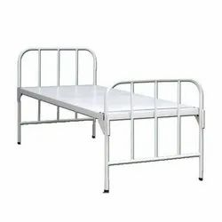 Color Coated Iron Bed, For Hospital, Single