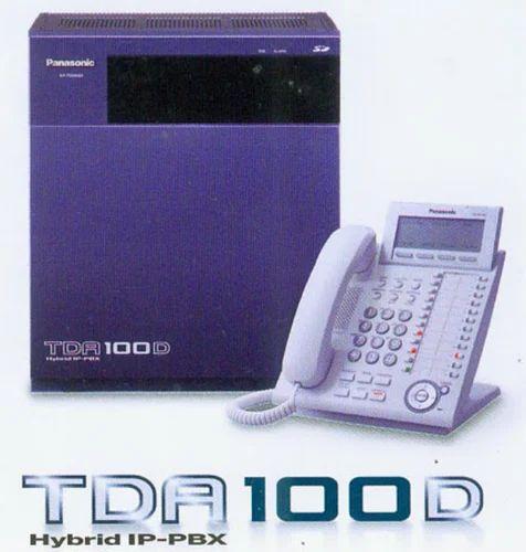 Panasonic KX-TDA 100 D Digital PRI And VOIP - Frontege
