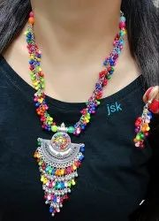 Multicolor Pan India Dropship Available - Oxidized Jewellery