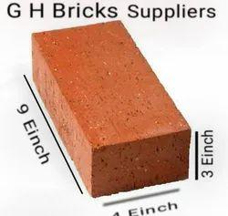 Bricks Rectangular Construction Red Brick