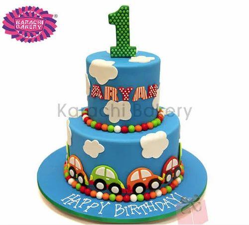 Manufacturer of Birthday Cakes Wedding Cakes by Karachi Bakery