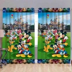 Knitting Printed Readymade Curtains, For Home, Design/Pattern: Digital Printing