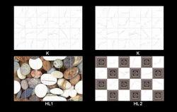 Designer Premium Wall Tiles, Size: Small