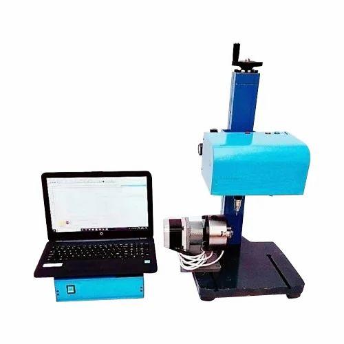 Mark India Pneumatic Rotary Model Dot Pin Marking Machine, Rs 170000 /unit  | ID: 19084540288