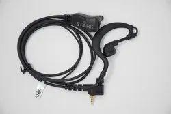 STARK 1 Mtr Walkie Talkie Handsfree - SGSM822GS, Box Pack
