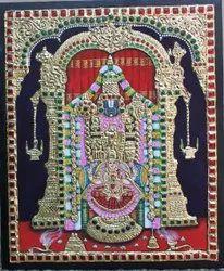 Lakshmi Narayana Tanjore Painting