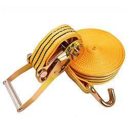 Cargo Lashing Belt With Double Hooks