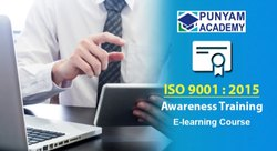 ISO 9001:2015 Awareness Training / E-Learning Course