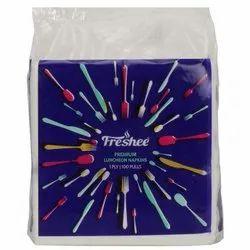Freshee Luncheon 1 Ply Tissue Paper Napkin - 100 Pulls, Skin & Eco-Friendly