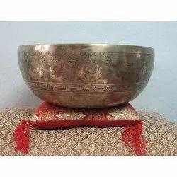 Tibetan Hand Carving Singing Bowl