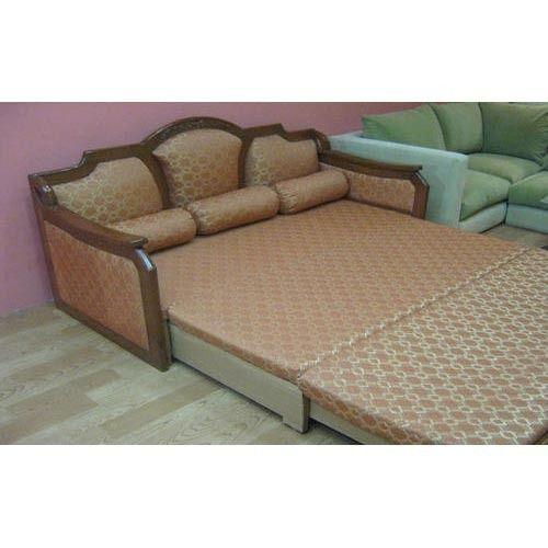 Wooden Sofa Cum Bed At Rs 55000 Piece लकड क स फ