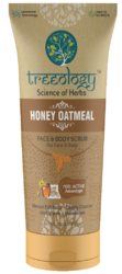 Herbal Honey Oatmeal Scrub