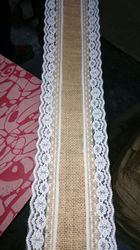 Jute Lace Ribbon