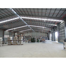 Structural Steel Shed Fabrication