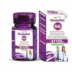 Healvital 5g - Multivitamin With Multiminerals Tablets